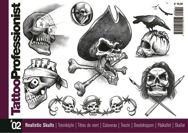 Tattoo Professionist 2 - Teschi Realistici