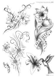 Floral tattoo for Disegni fiori per tatuaggi