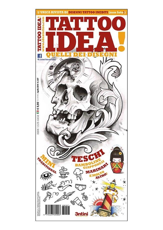 Idea Tattoo 207 Aprile 2016