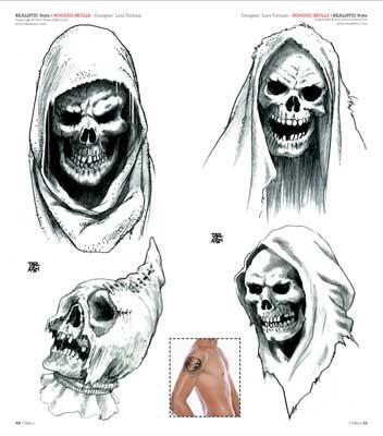 Idea tattoo 189 giugno 2014 for Immagini teschi disegnati