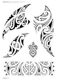Maori Tattoo Flash