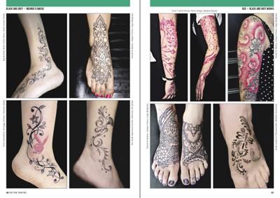 Tatuaggio Fiore Di Loto Sul Piede