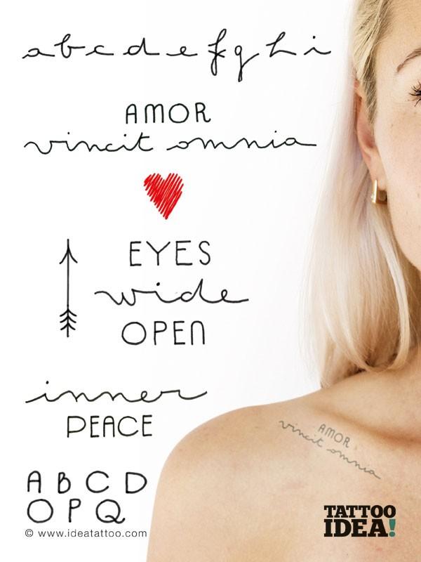 Super Tattoo Fonts SI69