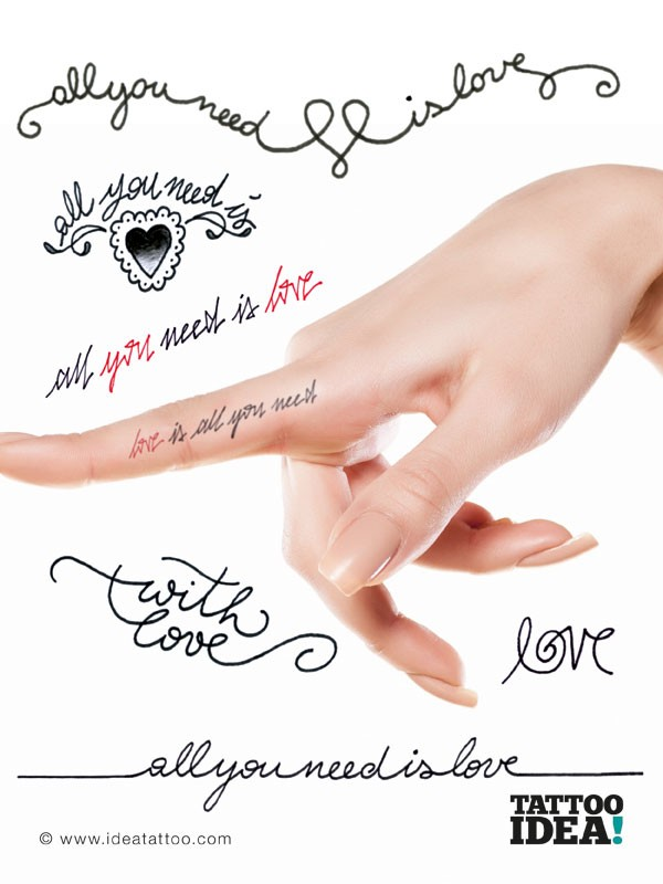 Favoloso Tattoo Fonts HP15