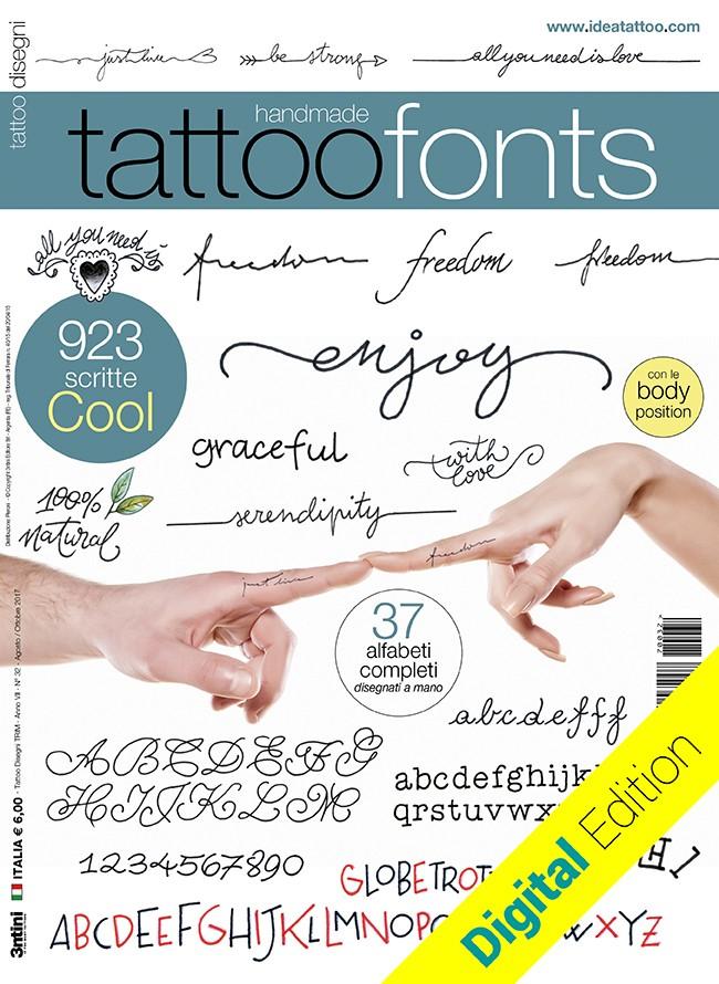 Tattoo Fonts  [digital edition]