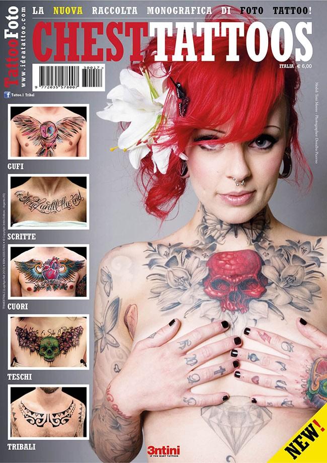 Tattoo Foto 17: Chest Tattoos