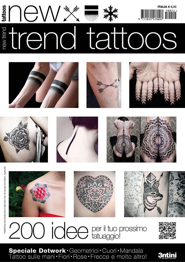 New Trend Tattoos: Dotwork