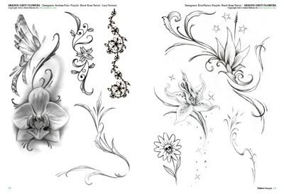 Fiori tattoo 3 for Disegni fiori per tatuaggi