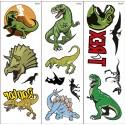 Dinosauri Tattoo Trasferibili 1