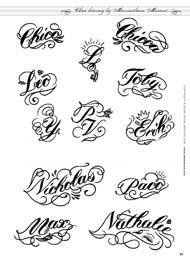 Alfabeti nomi for Nomi in corsivo gallery