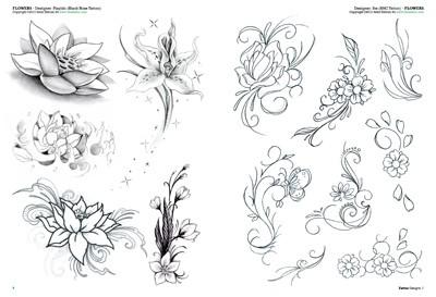 Fiori tattoo 2 for Disegni fiori per tatuaggi