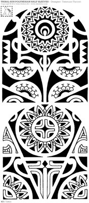 Idea tattoo 165 jan feb 2012 for Polynesian sun tattoo