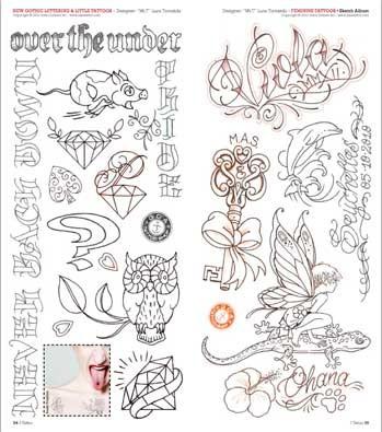 Idea tattoo lettering quotes