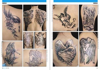 Tattoo photo 6 engel tattoos, Tattoo flash foto, Tatowierungen