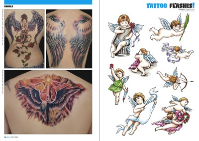 Pictures Angel Tattoos on Tattoo Photo 6 Engel Tattoos  Tattoo Flash Foto  Tatowierungen