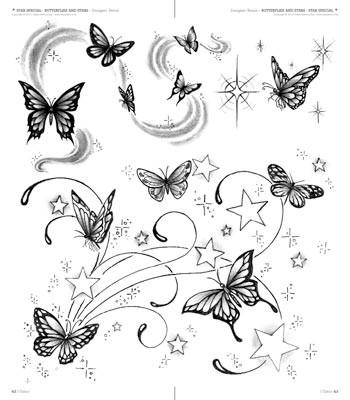 Tattoo motive schmetterlinge und blumen