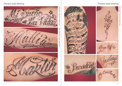 Chicano Tattoos on Tattoo Foto 5 Schrift Tattoos  Tattoo Flash Foto  Tatowierungen