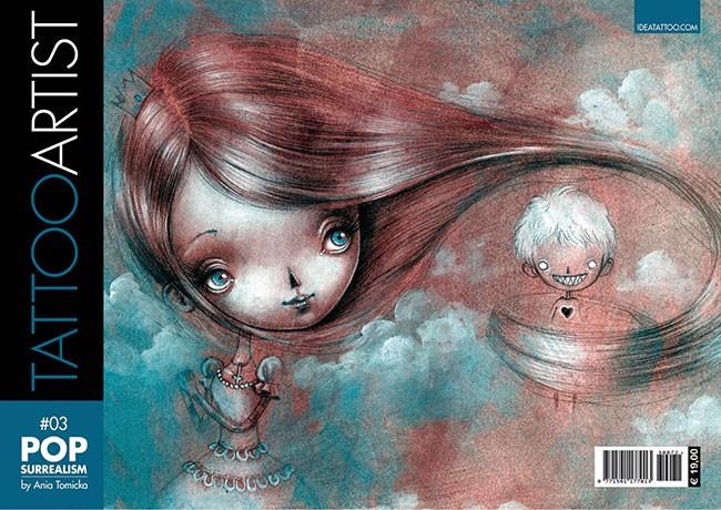 Tattoo Artist 3  - Pop Surrealism By Ania Tomicka