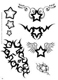 Pin Sterne Tattoo Flash Vorlagen Tatowierungen Page 7 on Pinterest