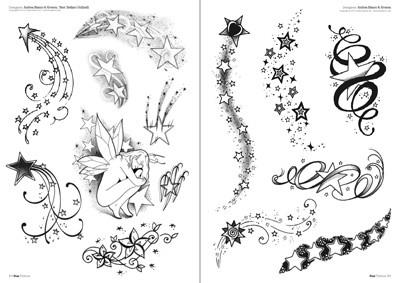 stars tattoo. Black Bedroom Furniture Sets. Home Design Ideas