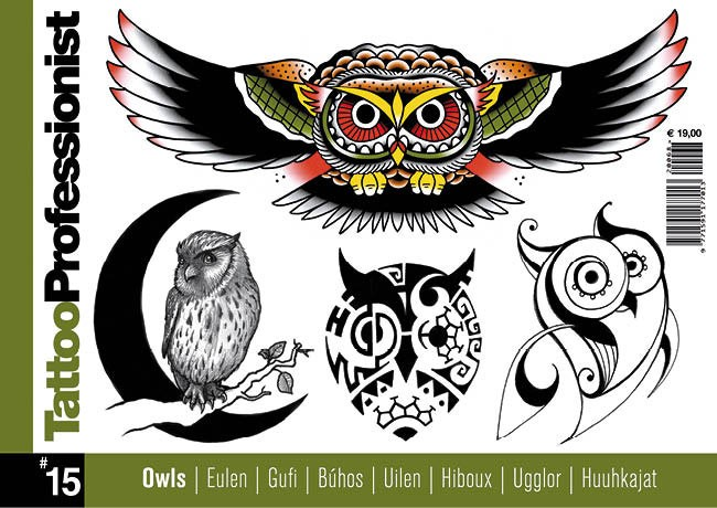 Tattoo Professionist 15 - Eulen