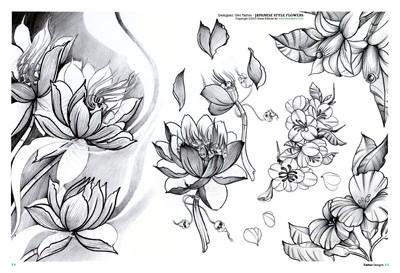 tattoo blumen 2. Black Bedroom Furniture Sets. Home Design Ideas