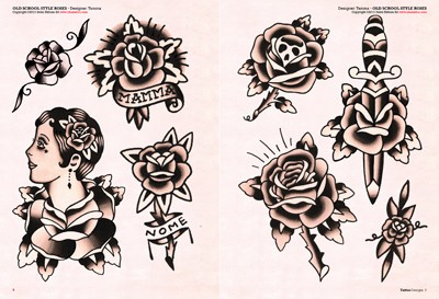 Dinosar Tattoo Design Draw
