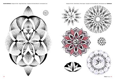 mandalas und ornamental tattoos. Black Bedroom Furniture Sets. Home Design Ideas