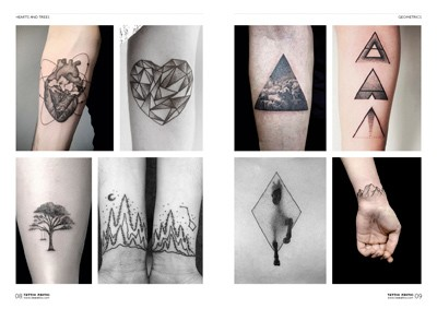 neue tattoo trends dotwork