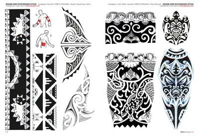Tatto Maori on Tribal Maori Polynesian  Tattoo Flash Drawings  Tattoo