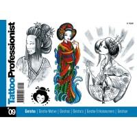 Tattoo Professionist 9 - Geisha-motive