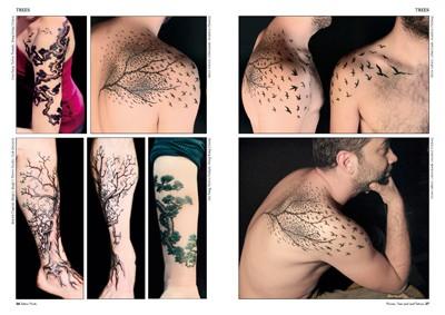tattoo foto 15 blumen baum und bl tter tattoos. Black Bedroom Furniture Sets. Home Design Ideas