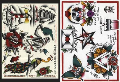 old school tattoos tattoo motive. Black Bedroom Furniture Sets. Home Design Ideas