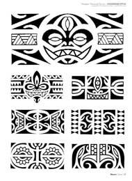 Maori Tattoo Polynesien Papillon Hawaiian Polynesian Tattoo