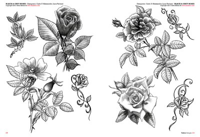 rosas para tatuajes. Black Bedroom Furniture Sets. Home Design Ideas