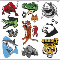 Tatuajes Transferibles Wild Animals