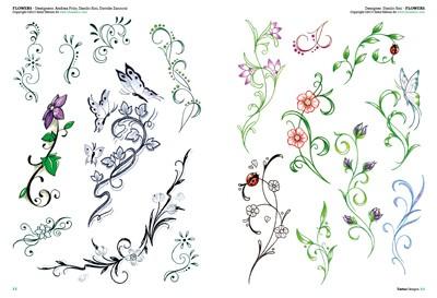 Tatouages de fleurs 2 - Tatouage pensee fleur ...