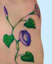 fiori tattoo 2 The secret of flowers part 2