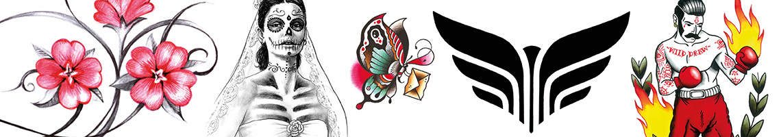 Tattoo Flash Drawings