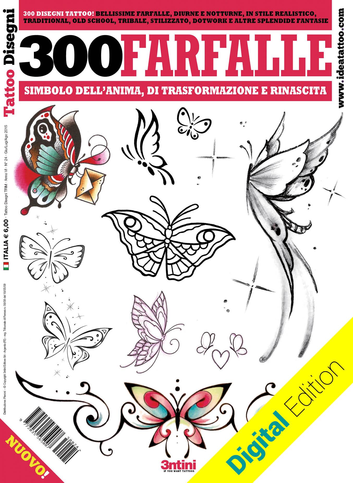 300 farfalle tattoo cover dig 1 Disegni Tattoo   Farfalle
