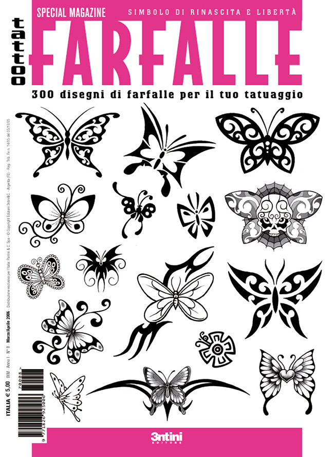 cover farfalle Draw your own butterfly