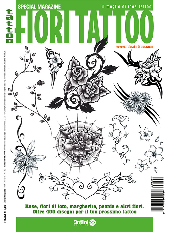 cover fiori Drawings Tattoo   Flowers