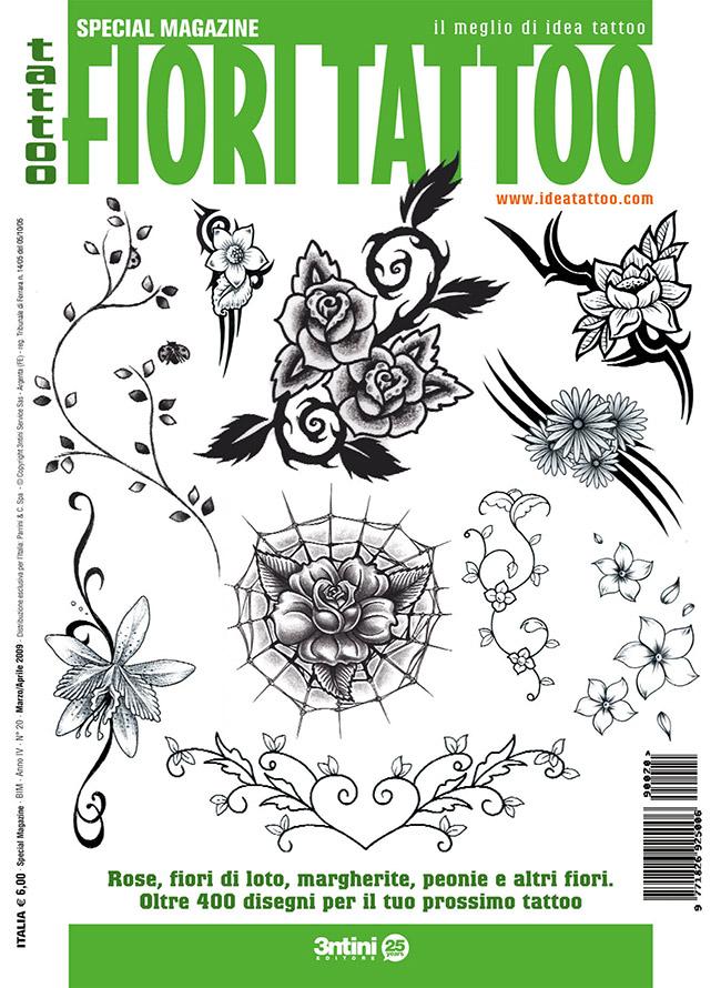 cover fiori Disegni Tattoo   Fiori