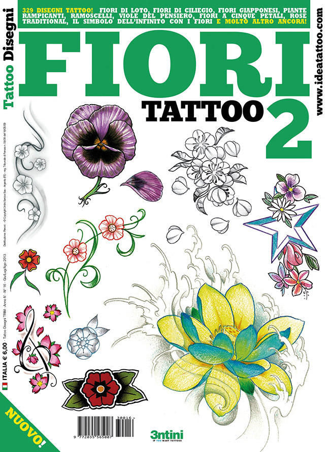 cover fiori2 Drawings Tattoo   Flowers