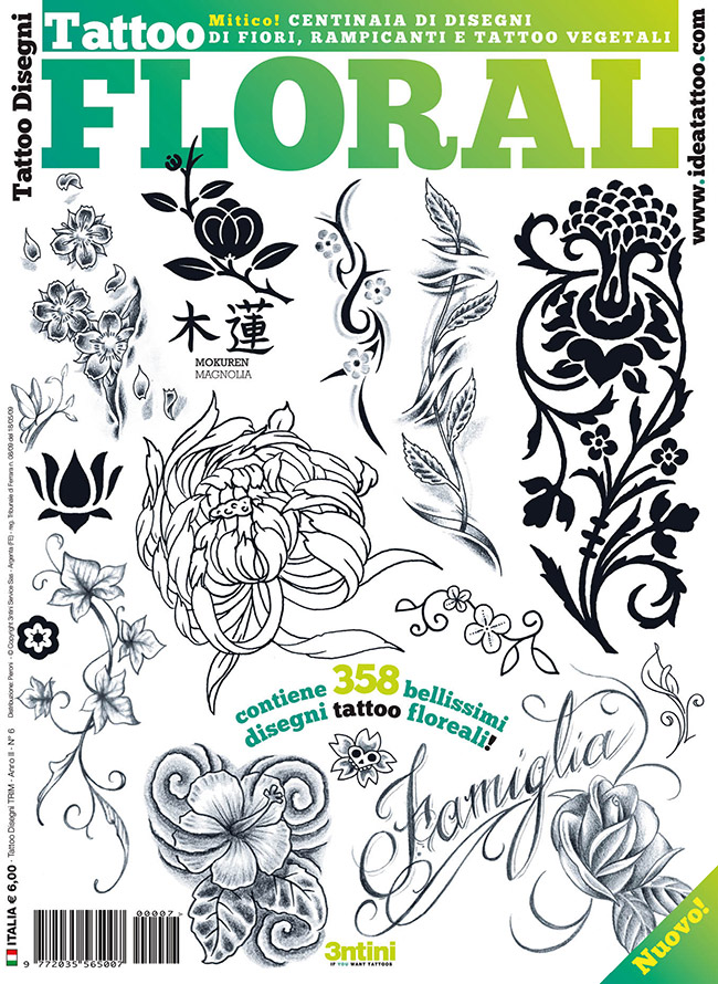 cover floral Drawings Tattoo   Flowers
