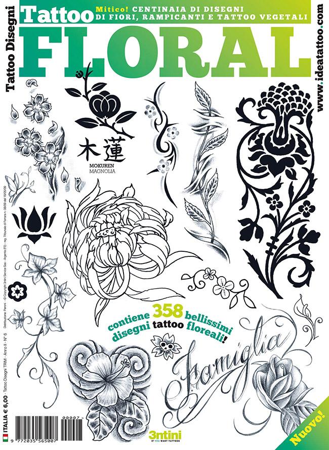 cover floral Disegni Tattoo   Fiori