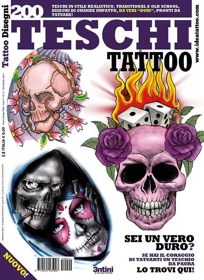 cover teschi Disegni Tattoo   Teschi