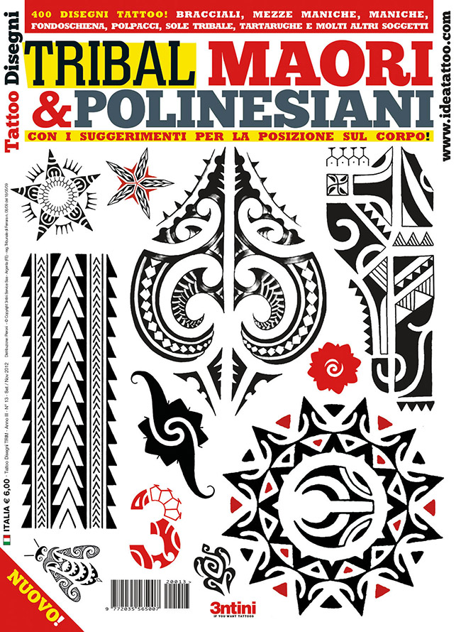 cover tribal maori polinesiani 1 Disegni Tattoo   Polinesiani