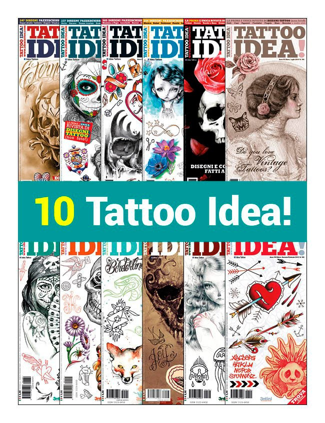 10 Tattoo Idea!