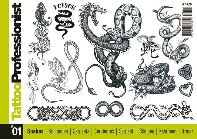 Tattoo Professionist 1 - Serpenti